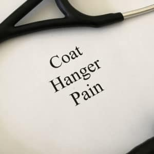 Coat Hanger Pain